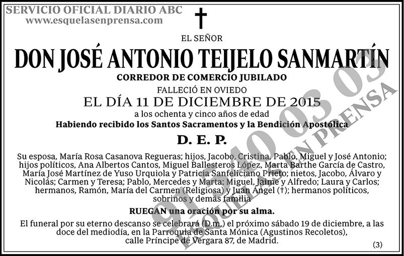 José Antonio Teijelo Sanmartín